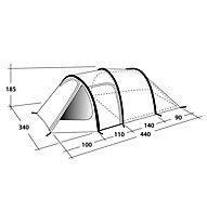 Outwell Earth 5 - tenda da campeggio