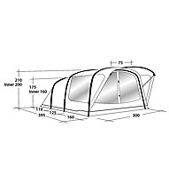Outwell Reddick 5A - Campingzelt