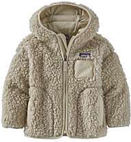 Patagonia B Reto X Hoody - giacca in pile - bambino, White