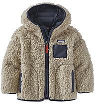 Patagonia B Reto X Hoody - giacca in pile - bambino, White/Blue