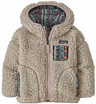 Patagonia B Reto X Hoody - giacca in pile - bambino, Light Brown