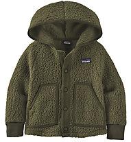 Patagonia B Retro Pile - giacca in pile - bambino, Dark Green