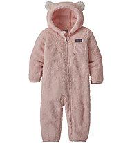 Patagonia Baby Furry Friends Bunting - tutina in pile - bambina, Pink