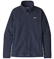 Patagonia Better Sweater - felpa in pile - donna, Blue