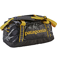 Patagonia Black Hole Duffel 45l - Rucksacktasche, Forge Grey/Chromatic Yellow
