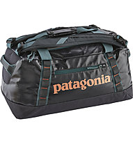 Patagonia Black Hole Duffel 45L - borsone viaggio, Dark Blue/Orange