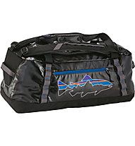 Patagonia Black Hole Duffel 60l - Borsone, Black/Blue