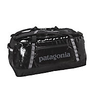 Patagonia Black Hole Duffel 90L - borsone da viaggio impermeabile, Black/Black