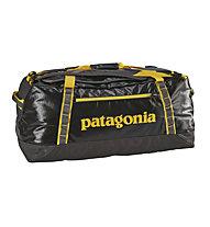 Patagonia Black hole D 90L - Reisetasche, Dark Grey/Yellow