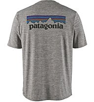 Patagonia Capilene Cool Daily Graphic - T-Shirt Trekking - Herren, Grey