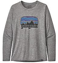Patagonia Long-Sleeved Cap Cool - Langarm-Shirt - Damen, Grey