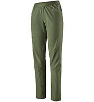 Patagonia Chambeau Rock - pantaloni arrampicata - donna, Green