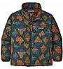Patagonia Down Sweater - giacca in piuma - bambino, Dark Green/Dark Orange