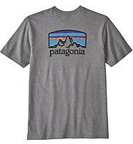 Patagonia Fitz Roy Horizons - T-Shirt Klettern - Herren, Grey