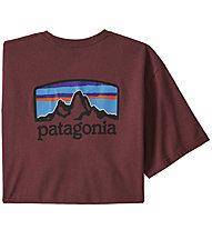 Patagonia Fitz Roy Horizons - T-shirt - uomo, Red