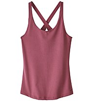 Patagonia Fleur - top - donna, Light Red