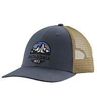 Patagonia Fritz Roy Scope Lopro Trucker - cappellino, Blue