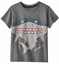 Patagonia Graphic Organic Cotton - T-Shirt - Kinder, Grey