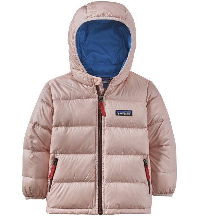 Patagonia Hi-Loft Down Sweater Hoody - Daunenjacke- Kinder, Pink/Blue