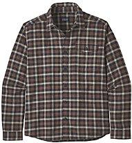 Patagonia Lightweigt Fjord Flannel - camicia a maniche lunghe - uomo, Brown