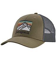Patagonia Line Logo Ridge LoPro Trucker - cappellino, Green