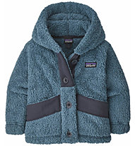 Patagonia Los Gatos Button-Up Hoody - giacca in pile - bambino, Light Blue