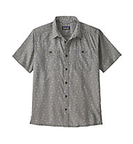 Patagonia Back Step - camicia a maniche corte - uomo, Grey