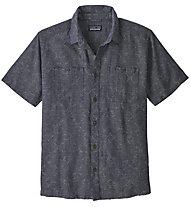 Patagonia Back Step - camicia a maniche corte - uomo, Dark Grey