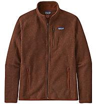 Patagonia Better Sweater - felpa in pile - uomo, Dark Red
