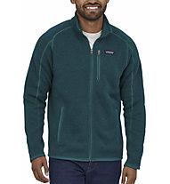 Patagonia Better Sweater - felpa in pile - uomo, Dark Green
