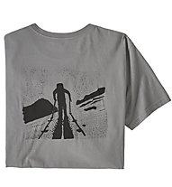 Patagonia Breaking Trail Organic - T-Shirt Klettern - Herren, Grey
