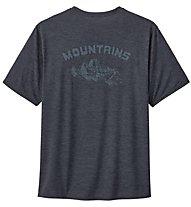 Patagonia Capilene Cool Daily - T-Shirt - Herren, Dark Grey