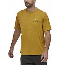 Patagonia Capilene Cool Daily - T-Shirt - Herren, Dark Yellow