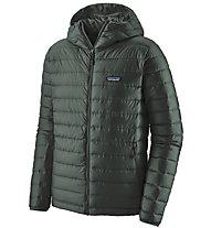 Patagonia Down Sweater - Daunenjacke mit Kapuze - Herren, Dark Green/Dark Green
