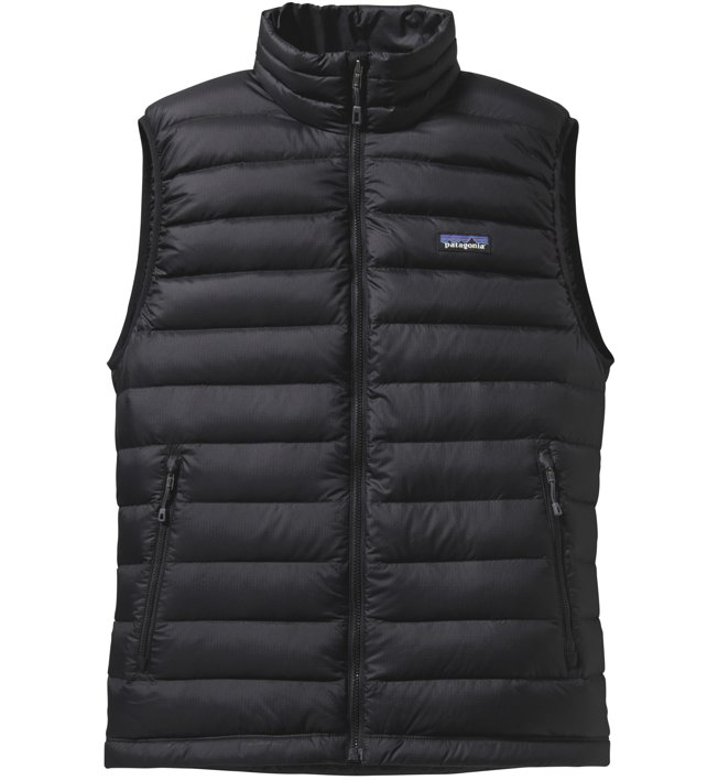 Patagonia Down Sweater - gilet in piuma - uomo, Black