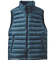 Patagonia M's Down Sweater Vest Gilet piuma, Blue