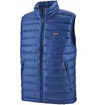 Patagonia Down Sweater - gilet in piuma - uomo, Light Blue/Light Blue