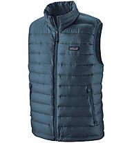 Patagonia Down Sweater - gilet in piuma - uomo, Blue/Blue