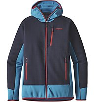 Patagonia M's Dual Aspect Hoody Giacca Escursionismo, Blue
