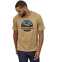 Patagonia Fitz Roy Scope Organic - Herren-T-Shirt, Brown