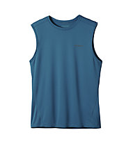 Patagonia Fore Runner Sleeveless Top trekking, Underwater Blue