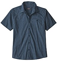 Patagonia Go To Shirt - camicia a maniche corte - uomo, Dark Blue