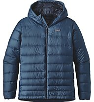 Patagonia M's Hi-Loft Down Sweater Hoody Giacca Escursionismo, Blue