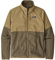 Patagonia M's Lightweight Better Sweater® Shelled - Herren-Fleecejacke, Brown