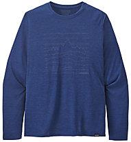 Patagonia M´s Long-Sleeved Capilene® Cool - maglia manica lunga - uomo, Blue