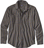 Patagonia M's Long-Sleeved Pima Cotton Shirt, Blue