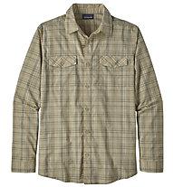 Patagonia Long Sleeved High Moos - Wander- und Trekkinghemd - Herren, Brown
