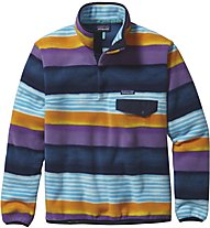 Patagonia M's LW Synch Snap-T P/O Herren Fleecepullover mit Druckknopföffnung, Colored