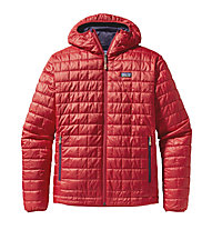 Patagonia Nano Puff Hoody giacca PrimaLoft, Cochineal Red