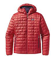 Patagonia Nano Puff Hoody PrimaLoftjacke, Cochineal Red
